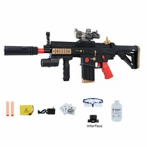 Toy Gun Electronic Plastic Water Soft Bullets Firing Rifle Nerf Crystal ... - $61.99