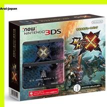NEW Nintendo 3DS console Monster Hunter X kisekae plate pack Japan cross - $243.33