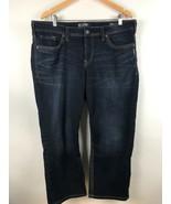 Silver Jeans Company Womens Suki MID Cropped Jeans Size 18 - $29.69