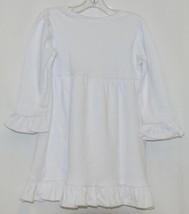 Blanks Boutique White Long Sleeve Empire Waist Ruffle Dress Size 18M - $14.99