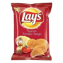 Lays Spanish Tomato Tango Potato Chips 52 grams, India - £4.22 GBP