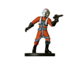 REBEL PILOT 17 Wizards of the Coast STAR WARS Miniature - $1.29
