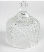 Fostoria Domed Crystal Lid For Butter/Cheese Dish LID ONLY - $9.00