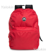 NEW Red Lightweight Unisex Compact Size Fashion Backpack Shoulder Book Bag - $23.99