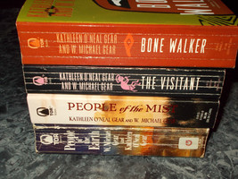 Kathleen O'Neal & W Michael Gear lot of 4 Historical paperback - $4.99