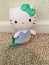 "TY Hello Kitty Mermaid 2013 Plush Stuffed Animal Toy Doll By Sanrio 6"" Tall - $15.83"