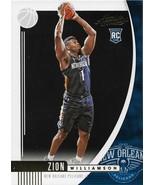 Zion Williamson Absolute Memorabilia 19-20 #16 Rookie Card New Orleans Pelicans - $12.50