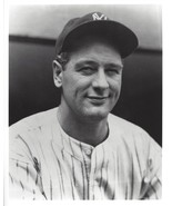 LOU GEHRIG 8X10 PHOTO NEW YORK YANKEES NY BASEBALL MLB PICTURE CLOSE UP - €3,39 EUR