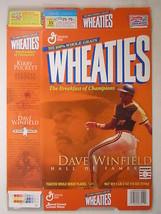 Empty WHEATIES Box 2001 18oz DAVE WINFIELD & KIRBY PUCKETT [Z202f4] - $6.32