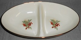 Lenox WILLIAMSBURG - BOXWOOD and PINE PATTERN Divided Vegetable Bowl - $89.09