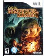 Cabela's Dangerous Hunts 2011 ( Wii Game) - $7.75