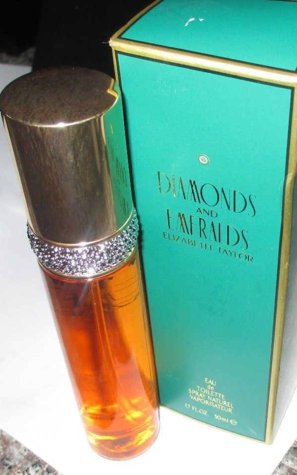 Elizabeth Taylor Diamonds and Emeralds Eau De Toilette Spray~ 1.7 fl oz~BOXED