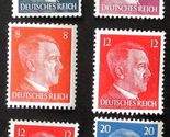 104   lot of 6 1941  wwii  adolph hitler third reich stamps unused 1 thumb155 crop