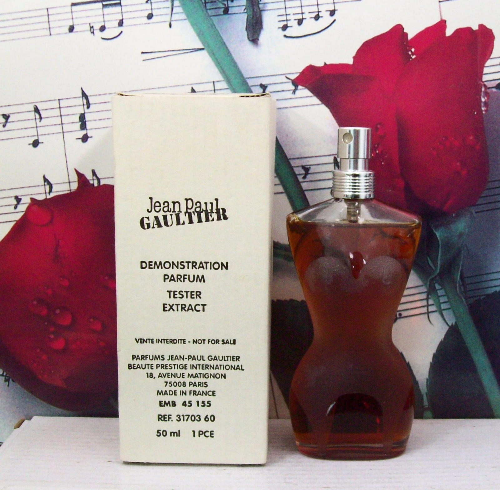 Primary image for Jean Paul Gaultier Classique Parfum Extract Spray 1.7 FL. OZ. NTWB