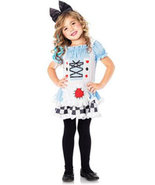 Girls Storybook Alice Halloween Costume Size 8-10 - $20.00