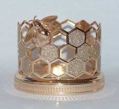 BATH & BODY WORKS GOLD HONEYCOMB BUMBLE BEE HAND SOAP SLEEVE HOLDER  - $45.99