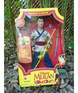 Vintage Captain Li Shang doll 1990s, Disney - $39.99