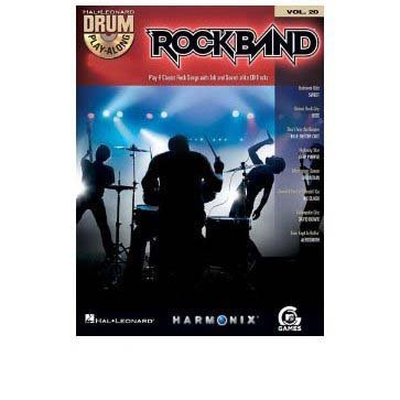 Primary image for ROCK BAND Drums Playalong Book / CD Vol 20 [Sheet music]