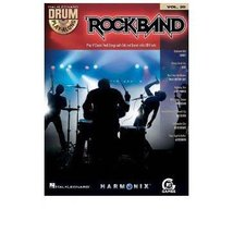 ROCK BAND Drums Playalong Book / CD Vol 20 [Sheet music] - $16.45