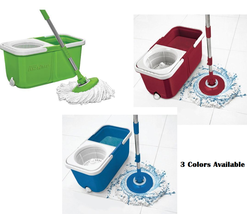 Big Boss InstaMop The Spinning Action Mop With Bonus Mop Head AS SEEN ON TV - $43.95