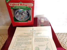 Hallmark Lighted Hologram Santa's On His Way Christmas Ornament (#2756) - $9.99