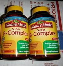 (2) Nature Made Super-B Complex W/ Vitamin C Immune Support Health 360 Tabs 6/22 - $29.69