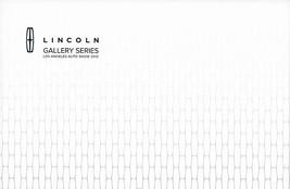 2012/2013 Lincoln GALLERY SERIES Los Angeles brochure catalog US Auto Show - $6.00