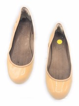 UGG Women's Antora Patent Leather Flats Beige US 7 EU 38 Slip On Shoes - $30.18