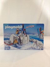 New Playmobil 9056 Artic Explorers With Polar Bears Building Toy Play Set - $28.04