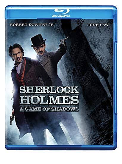 Sherlock Holmes: A Game of Shadows (Blu-ray + DVD)