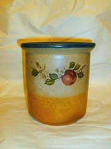 "Monroe Salt Works.signed  M S W Crockett Apple Pattern 6 1/4"" Hand Signed - $44.54"