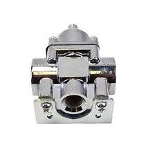 A-Team Performance Fuel Pump Fuel Pressure Regulator 4.5-9 PSI Gasoline Chrome P image 2
