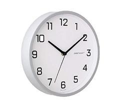 Sweetheart Non Ticking Silent Metal Glass Shine Style Wall Clock Quartz Decorati