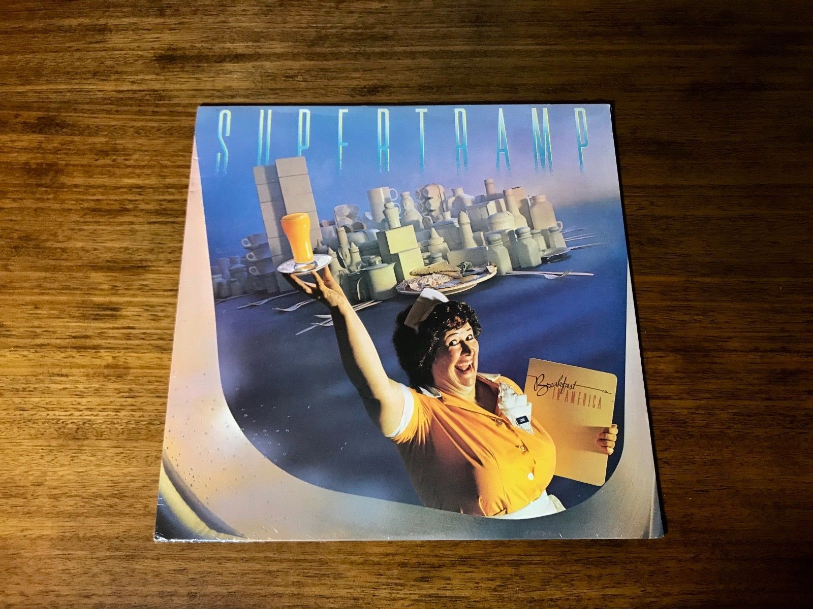 Primary image for SUPERTRAMP ~ BREAKFAST IN AMERICA LP ~ STILL FACTORY SEALED