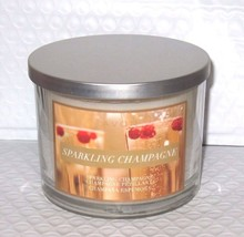 Avon 3 wick candle in jar * Sparkling champagne * Scented * Decor NEW - £7.40 GBP