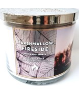 Bath & Body Works Marshmallow Fireside 3 Wick Candle 14.5 oz. Fall 2019 - $26.24