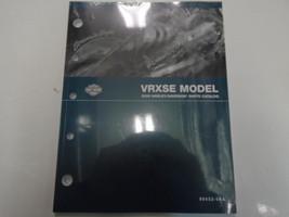 2006 Harley Davidson Vrxse Models Parts Catalog Manual Book New Oem Factory - $102.96