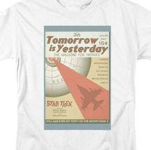 Star Trek T-shirt Tomorrow is Yesterday retro 60's Sc-Fi graphic tee CBS1956 image 3