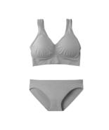 4c3fe53332bda Modern Sporty Bra Panty Set (Grey) -  21.99