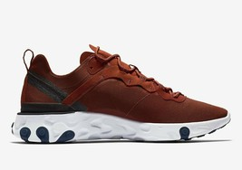 Nike React Element 55 Men Shoe BQ6166-600 Mars-Stone/Navy-Blue Sneaker S... - $153.44