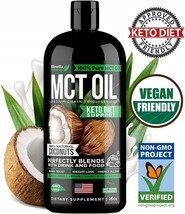 MCT Oil for Keto Diet Support - Made in USA - Organic MCT Oil from Pure ... - $160.39