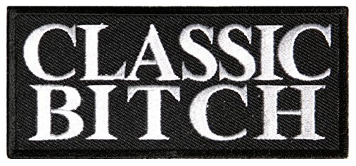Classic Bitch Patch - 4x1.75 inch