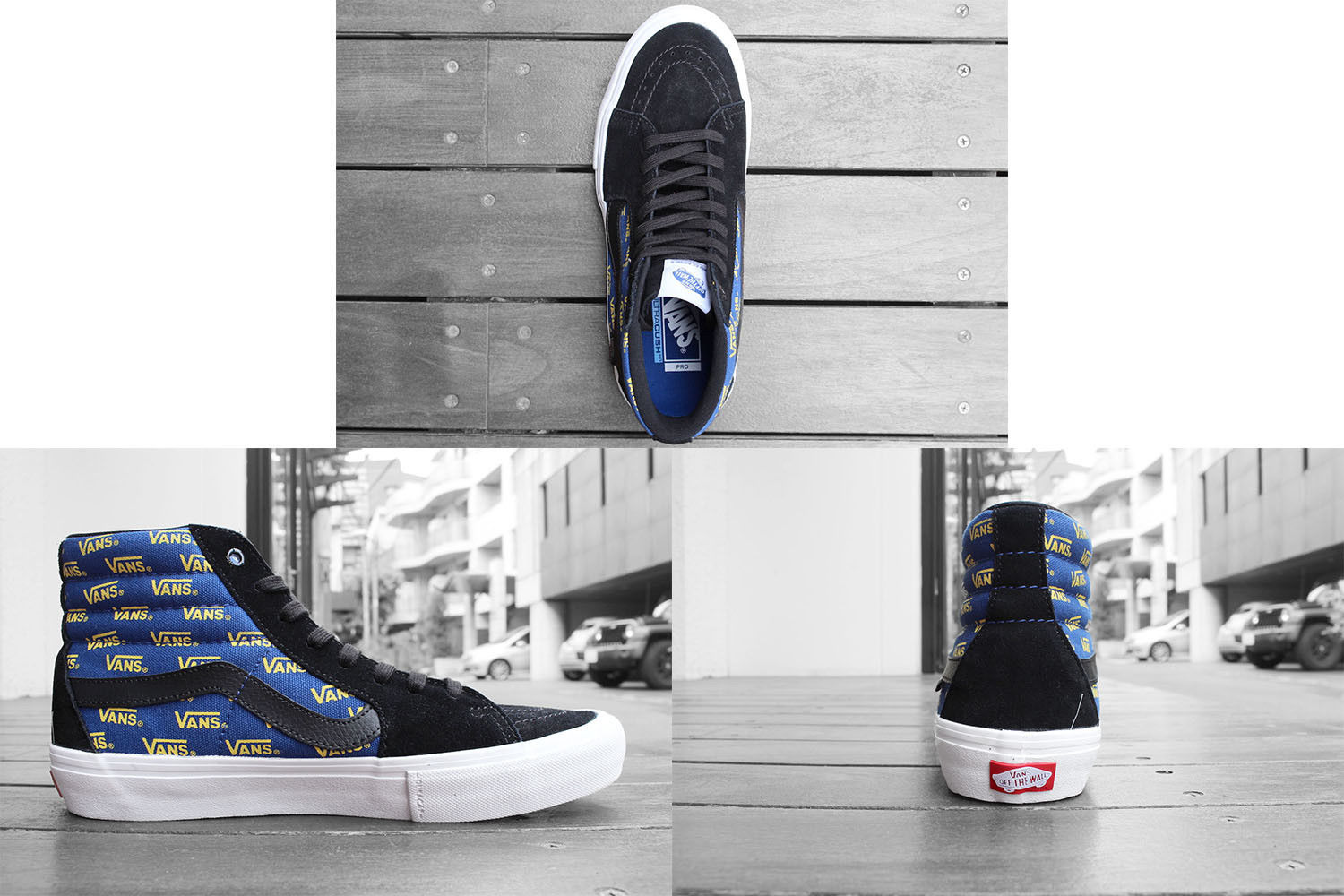 23e55f5e1c 57. 57. Previous. Vans Sk8 hi Pro BLACK CYBER YELLOW menS size 11 BLUE NEW  NWT SKATE SHOES · Vans Sk8 ...