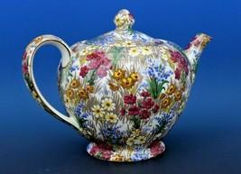 Vintage Royal Winton Marguerite Floral Chintz Teapot image 2