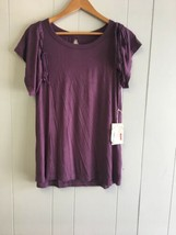 GLITZ Women's Top Grape Jam Size 3X  #1323 - $14.99