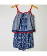 Epic Threads Blue Romper, Size Large Americana $34 NEW With Tags Macys B... - $22.75