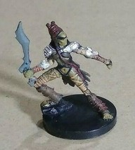 Dungeons & Dragons Miniatures Githyanki Fighter #51 D&D Mini Wizards! - $4.79