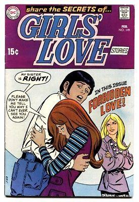 Girls' Love Stories #149 comic book 1970-DC-Forbidden Love-FN