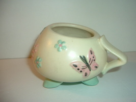 Hull Butterfly Open Handled Sugar - $14.99