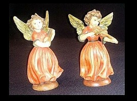 Angel Figurines by A Santini AB 442 Unique Vintage